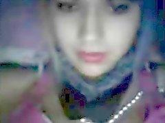 Argentinian teen flash tits on webcam