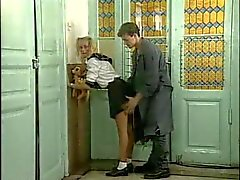 Girl fucked in uniform