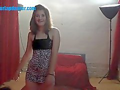 Czech bikini girl lapdances for stranger