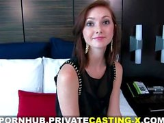 Private Casting X - My first natural red-haired pussy