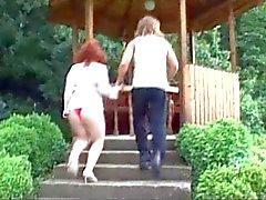 Natural Amateur Redhead MILF Shlatzka Fucks Younger Man