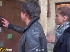 Double penatration movie for hot chick