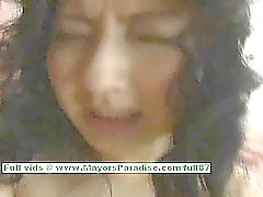 Megumi Haruka teen Chinese girl rides a dildo