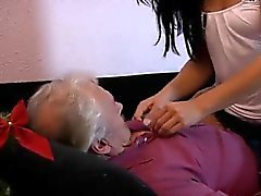 Old men and young men girl sex Bruce a messy old guy likes t