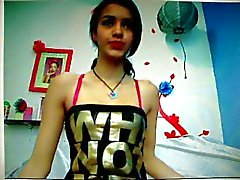 Babe Undressing Webcam