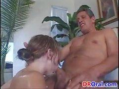 Dirty Teen Enjoying Some Cock