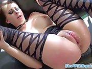 Nymph Luna Kitsuen gets fucked till she squrites