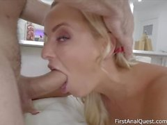 Hard-core anal penetration into hot Victoria pure-firstanalquest