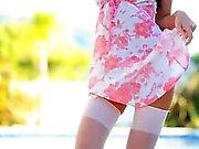 Pantyhose and ingratiatingly hot heels