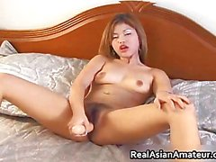 Peachy ass asian amateur forces huge part6