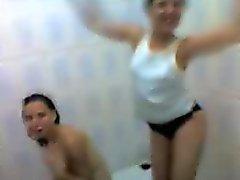 arab teens showering