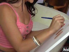 Horny teens experiment with each other
