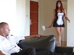 Too sexy maid
