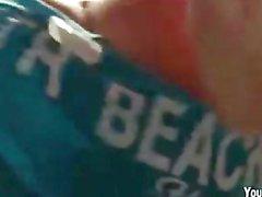Nude Beach Body Shots & Hotel Orgy