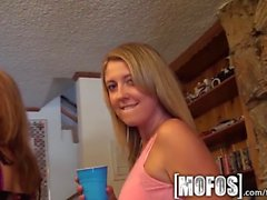 Mofos - Teens spice up their house party