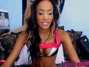 Petite black teen with sexy body ass fucking LiveChatBabe