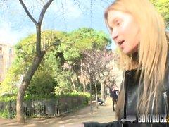 Hot Angel Piaff Enjoys Rebound Sex in Public