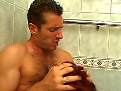 Gorgeous Girl Has Bath Interrupted By Deep Anal Penetration