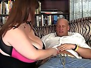Lexxxi Luxe has giant tits and is fucked from behind