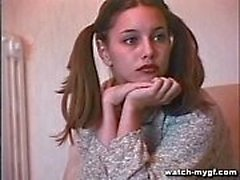 Teen Russian Model Does Anal