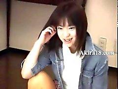 Petite 18yo girl from korea sucking cock
