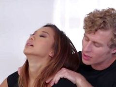 Alina Li Fucked On Massage Table