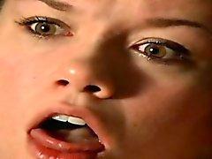 Glamour girl deepthroat cum