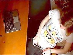 Busty Redhead Teen Masturbates On Cam