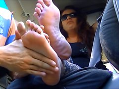 Callie Calypso hardcore foot fetish