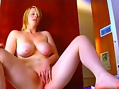 My Horny Chubby Teen GF with nice tits rubbing her Pussy