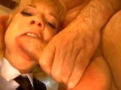 Business man nails her tight young ass