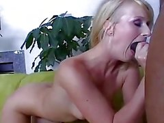 sexy blonde takes anal pleasure from big black cock