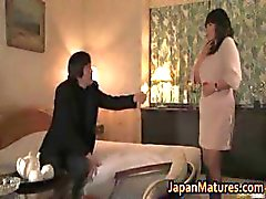 Hot slut Rumi Kazama sucks and fucks part3