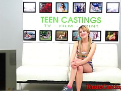 Hardfucked teen amateur loves sexauditions