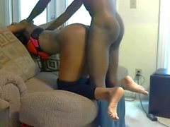 Sexy Exotic Ebony Sucking & Fucking