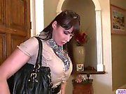 Busty stepmom teaches teen girl some fucking techniques