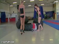 NudeFightClub presents Tiffany Doll vs Vanda Lust