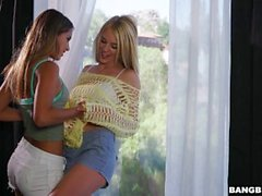 Uma Jolie Playing Around With Blake Eden
