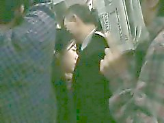 Schoolgirl groped by Stranger in a crowded Train 09
