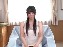 Japanese teen loves to stuff her pussy with toys
