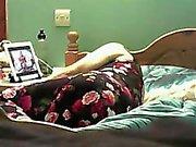 bedroom masturbation milf Milou on spy camera