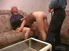 Young and Old man fucked hot chik