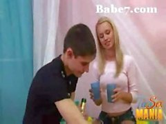 Tiny Blond Teen Gets Filled With Thick Cock