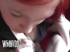 Busty Redheaded German Teen