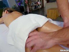 Nina North Gets Fucked After Massage