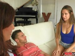 Moms Bang Teen - Mom catches couple in the act