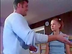 Little Babysitter Fucked By Father