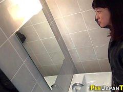 Japan teens cunt peeing