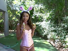BFFS - Hot Teens Get Filled Witch Cock AT Bunny Mansion