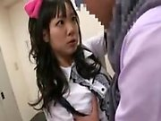 Fascinating Japanese teen exchanges oral pleasures with an